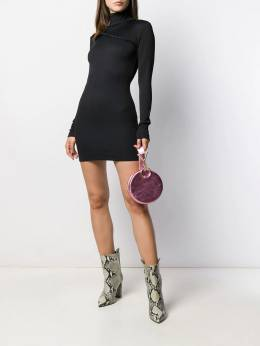 Rotate - turtleneck fitted mini dress 583NUMBER33955369990