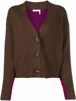 See By Chloé - two tone button cardigan 99WMC655969559865000