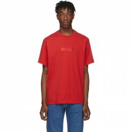 Levi's Red Relaxed Logo T-Shirt 192099M21300803GB