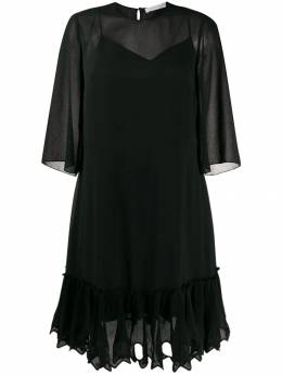 See By Chloé - sheer layered dress 99ARO006059533380300