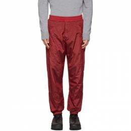 Stone Island SSENSE Exclusive Red Ripstop Track Pants 192828M19001603GB