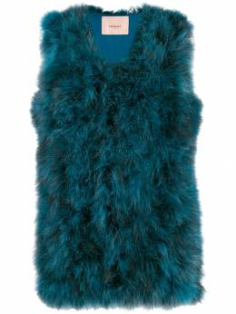 Twin-Set - fluffy gilet TP056695530696000000