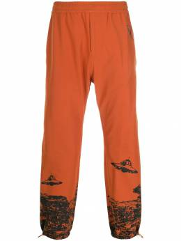 UNDERCOVER - elasticated UFO print track pants 55650955696350000000