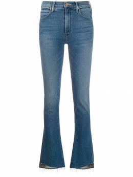 Mother - flared mid-rise jeans 35369559359800000000