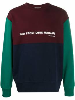 Drôle De Monsieur - Not from Paris Madame sweater OYA95505933000000000