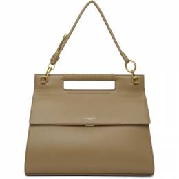 Givenchy Taupe Large Whip Bag 191278F04803901GB