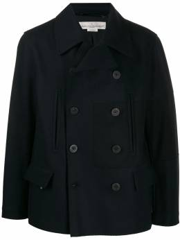 Golden Goose - double breasted patch detail coat MP568A99559590600000