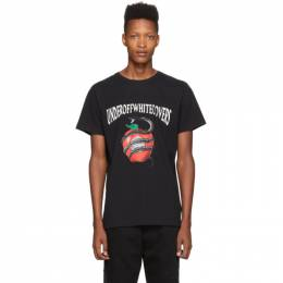 Off-White Black Undercover Edition Apple T-Shirt 192607M21308004GB