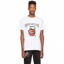 Off-White White Undercover Edition Apple T-Shirt 192607M21308103GB