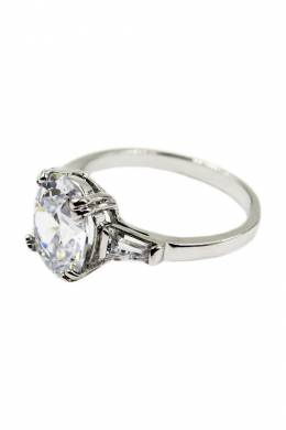 Кольцо Taya T-B-4893-RING-RHODIUM