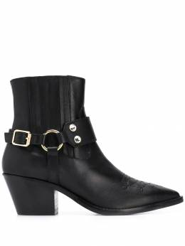 Twin-Set - buckle detail boots 96G95565395000000000