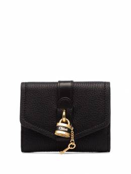 Chloé - black aby padlock leather wallet 99WP399B396699598350