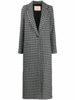 Twin-Set - fitted single-breasted coat TT059995565565000000