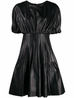 Drome - pleated-panel midi dress A390PD566P9553553800