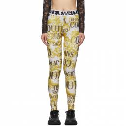 Versace Jeans Couture Gold Barocco Leggings 192202F08500304GB