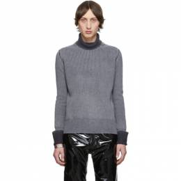 Maison Margiela Grey Gauge 7 Sweater 192168M20500704GB