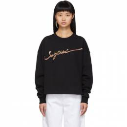 See by Chloe	 Black Logo Sweatshirt 192373F09800101GB