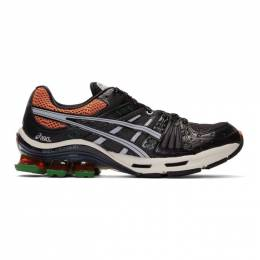 Asics Black and Orange Gel-Kinsei OG Sneakers 192092M23701312GB