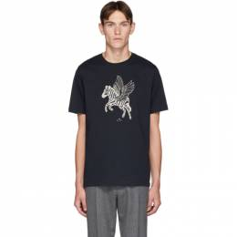 PS by Paul Smith Navy Pegasus T-Shirt 192422M21304005GB