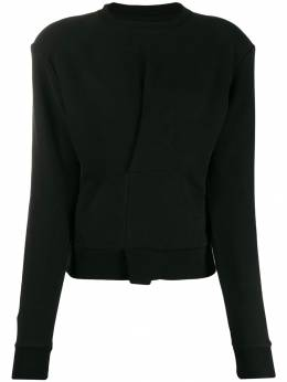 Unravel Project - pintuck front sweatshirt A655F99FLE6699553333
