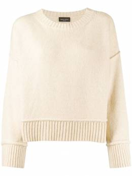 Roberto Collina - cable knit jumper 96995533953000000000