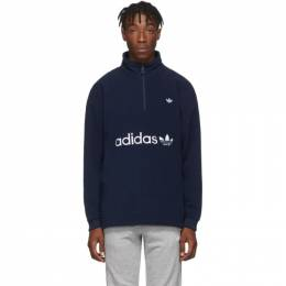 Adidas Originals Indigo Logo Zip-Up Sweater 192751M20204306GB
