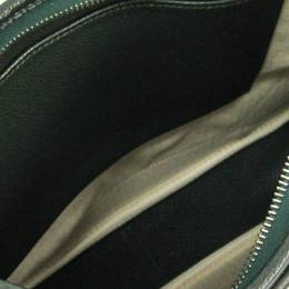 Hermes Green Taurillon Clemence Leather Trim II 35 Bag 228548