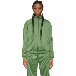 Green Deconstructed Track Jacket 19FWTO01-02 Danielle Cathari
