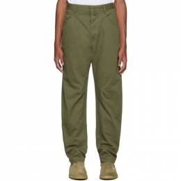 Isabel Marant Green Flyston Trousers 192600M19100105GB