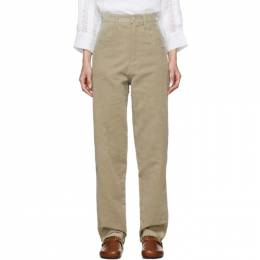 Isabel Marant Beige Relaxed Debora Trousers A1466-19H014I