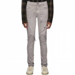 Amiri Grey MX1 Jeans 192886M18605304GB
