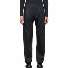 Lemaire Navy Sunspel Edition Elasticized Trousers 192646M19101404GB