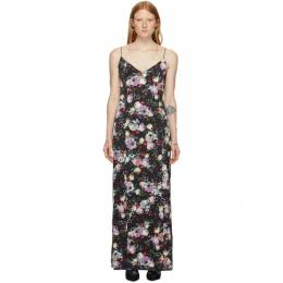 Erdem Black Aspen Dress PF19_21190CDS