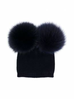 Siola - double pompom hat 69563M95605665000000