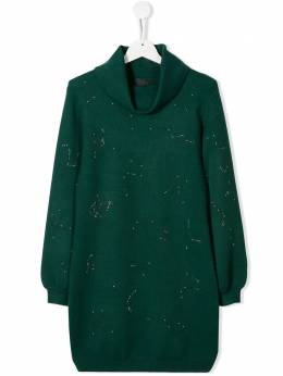 John Richmond Junior - TEEN constellation sweater dress 99985VE9569359500000