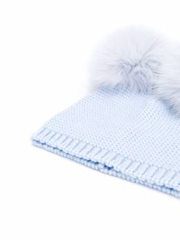 Siola - double pompom hat 69563M95605950000000