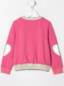 Simonetta - heart print sweater 696LB636956098830000