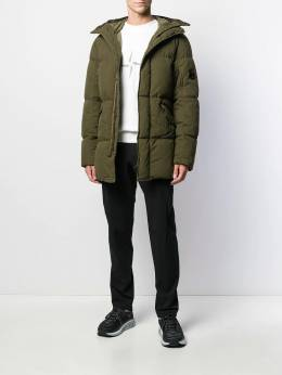 CP Company - hooded down coat MOW065B665563G938063