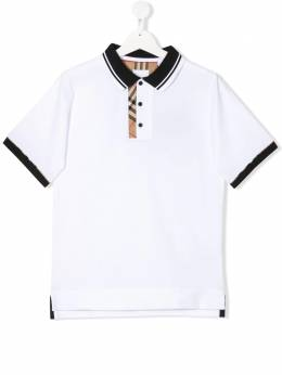 Burberry Kids - TEEN Archie checked polo shirt 0609T956053890000000