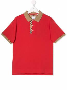 Burberry Kids - TEEN Archie checked polo shirt 0699T956055960000000