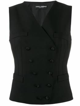 Dolce & Gabbana - double-breasted waist coat T6TFUCEG955959350000