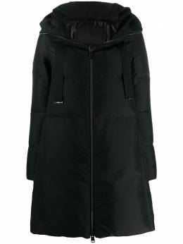 Herno - A-line zip-up padded coat 653DM6993536S9559956