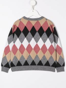 Brunello Cucinelli - diamond knit jumper 989506ACB98995565336