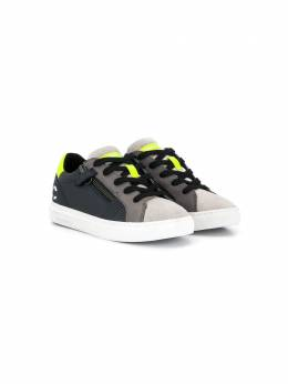 Crime London Kids - logo embroidered sneakers 66956909560000000000