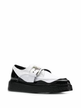 Nº21 - two tone buckled loafers 9I833569895699353000