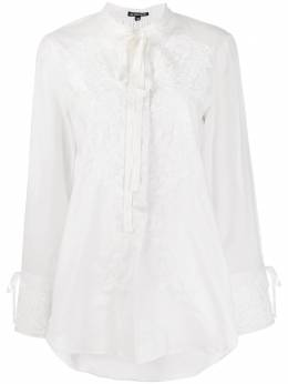 Ann Demeulemeester floral embroidered blouse 19022001P120