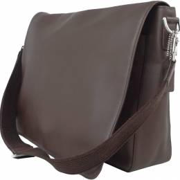 Coach Brown Leather Messenger Bag 238848