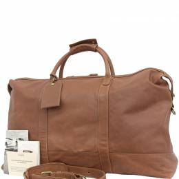 Coach Brown Leather Boston Bag 238841
