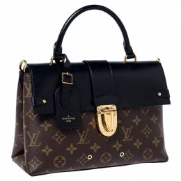 Louis Vuitton Monogram Canvas and Leather One Handle Flap MM Bag 235416