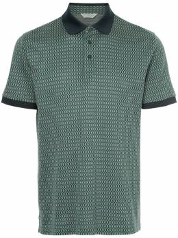 Gieves & Hawkes patterned polo shirt G37H9ER06046
